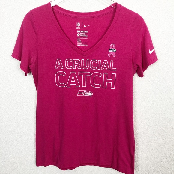 Top Nike Tops | Seattle Seahawks Breast Cancer Awareness Tee | Poshmark  for cheap